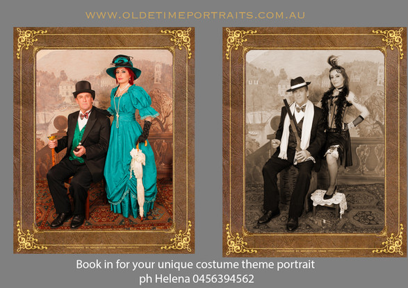 Classic Victorian and Gangster Style