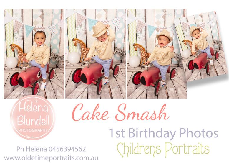 Childrens Portraits First Birthday