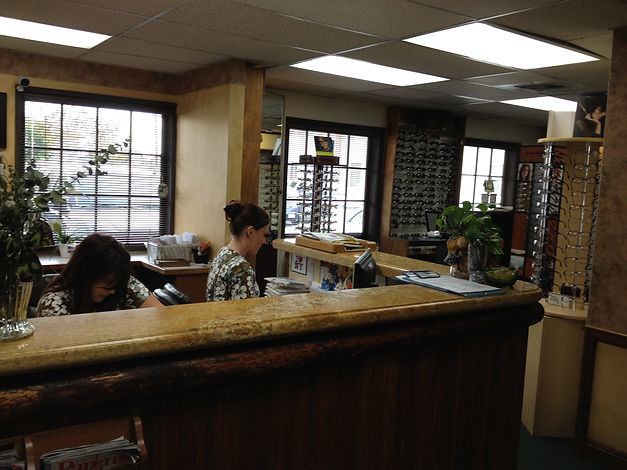 chino optometry office, chino optometrist, chino eye doctor office