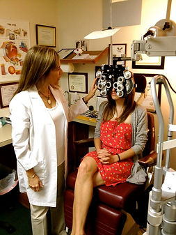 chino optometry office, chino optometrist, chino eye doctor office