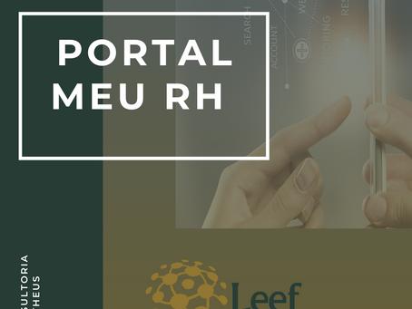 "Conheça o portal ""Meu RH"""