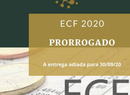 Prorrogado: Prazo do ECF 2020