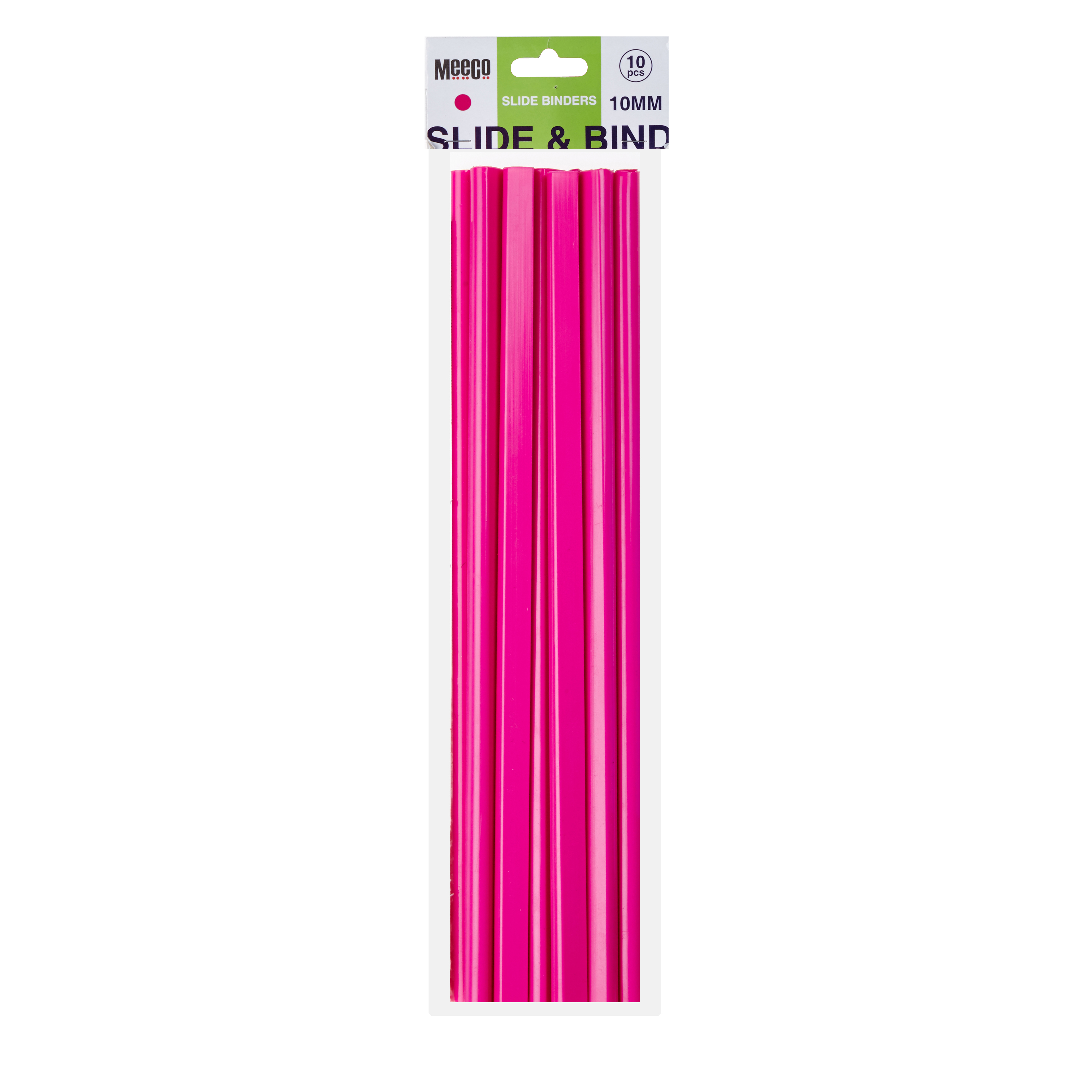 Neon Slide Binder 10mm
