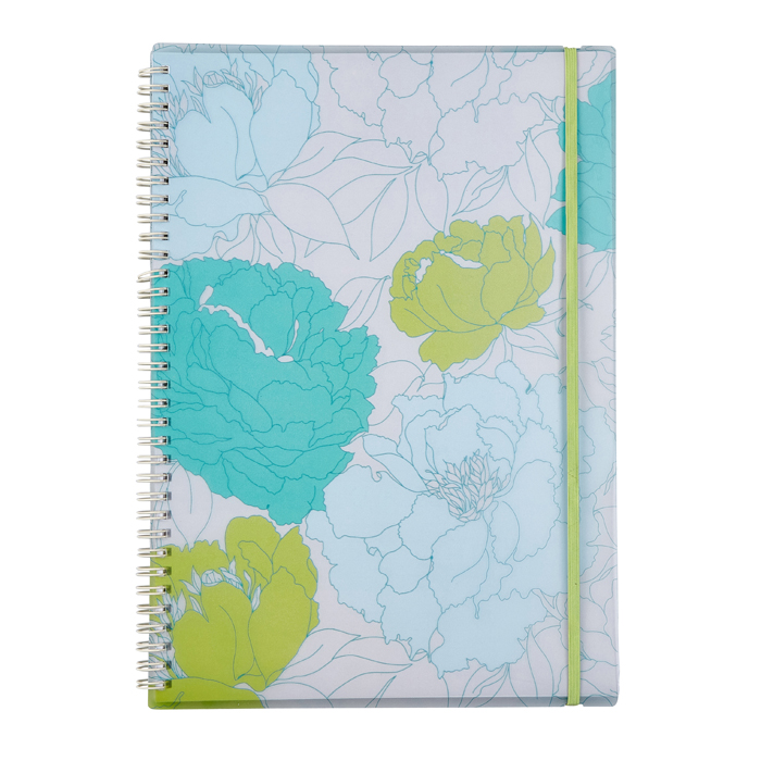 Floral Notebook (A4)