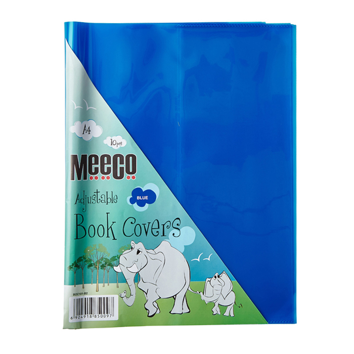 Book Cover Clear (A4) - Adjustable
