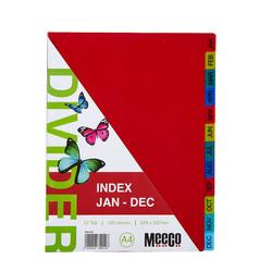 Executive Plastic Index Jan-DecTab