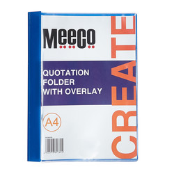 Quotation folder with Overlay