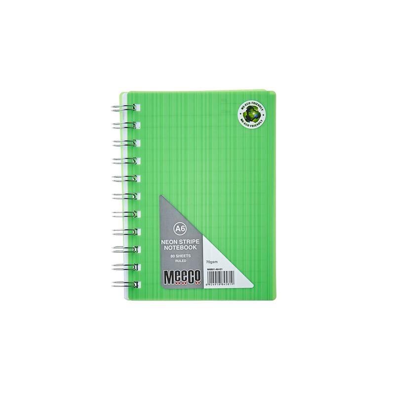Neon Notebook (A6)