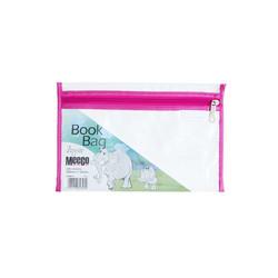PVC Book Bag - Zip Closure (A5)