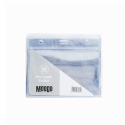 PVC Name Badge - Pack