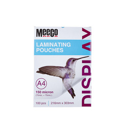 Laminating Pouch 150 Micron (A4)