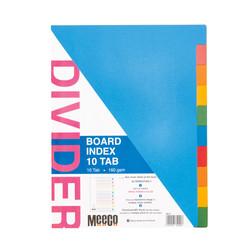Board Index 10 Tab Plain