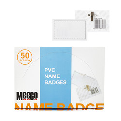 PVC Name Badges