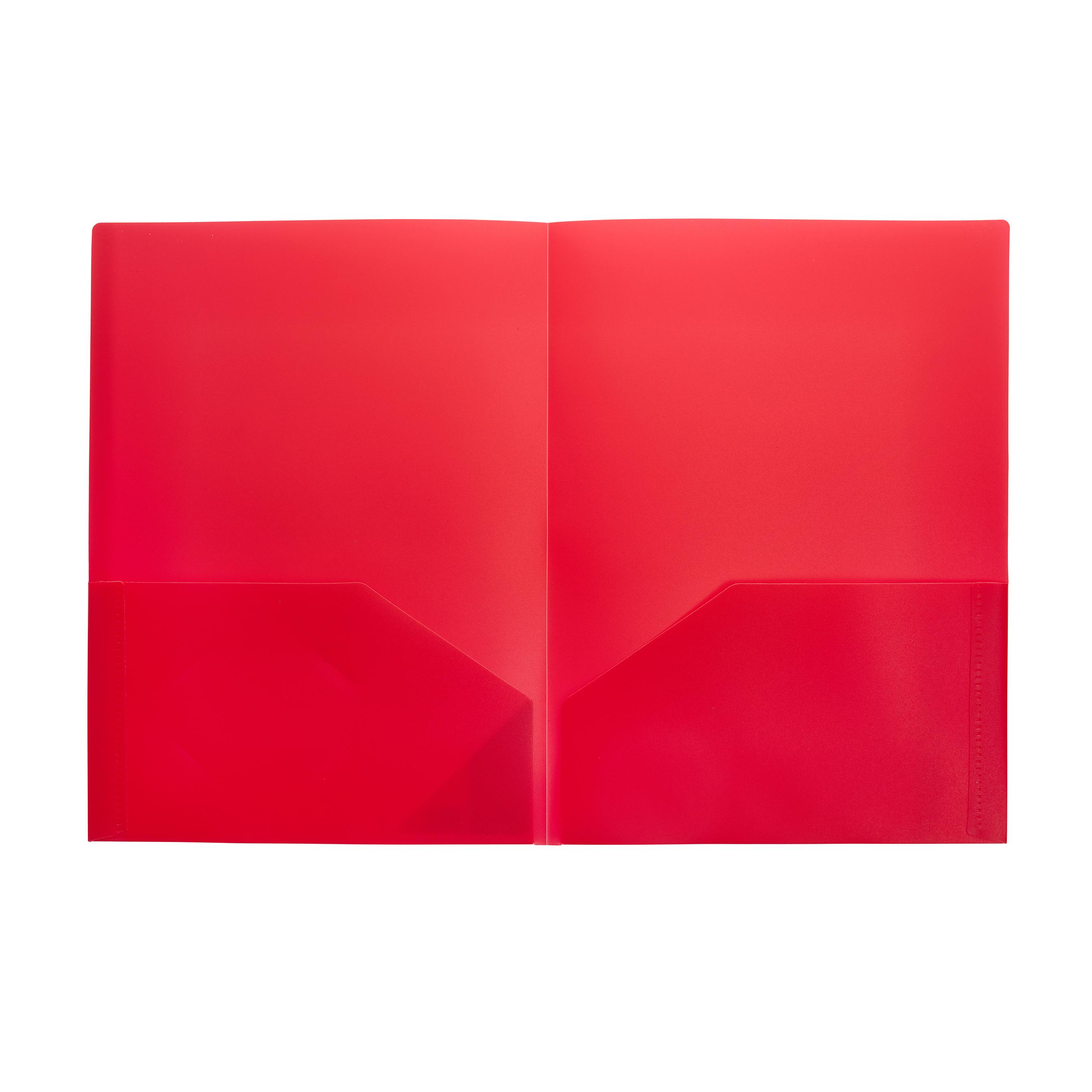 2 Pocket Folder (A4) - Open