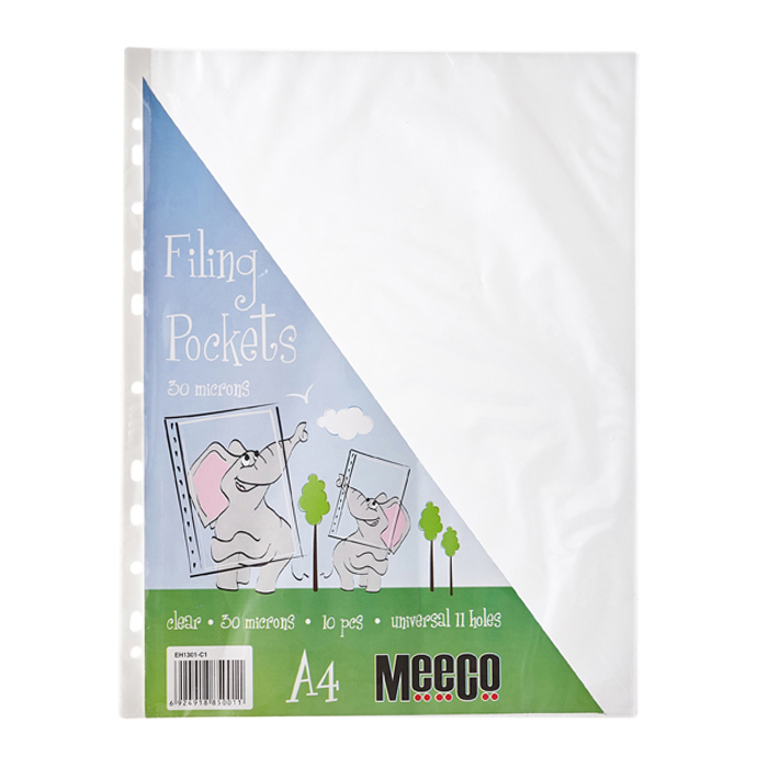 Filing Pockets - 30 Micron (10Pcs)