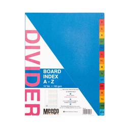 Board Index A-Z Tab Printed