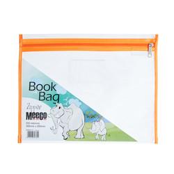 PVC Book Bag - Zip Closure (A4)