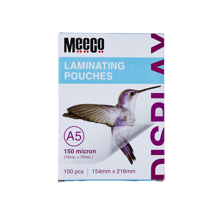 Laminating Pouch 150 Micron (A5)