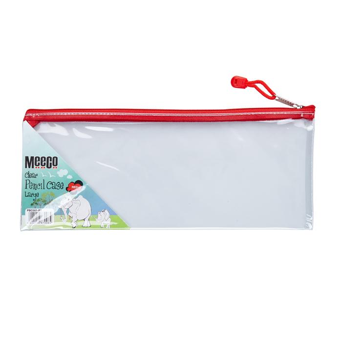 Clear PVC Pencil Bag - Large
