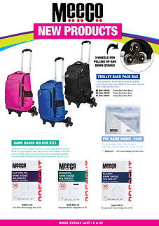 New Products Flyer 2018 - Not Priced - P