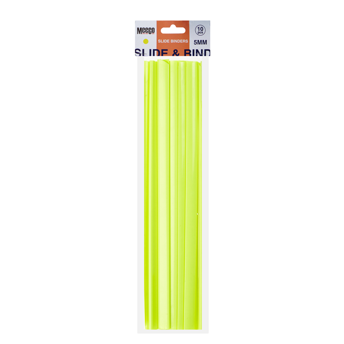 Neon Slide Binder 5mm