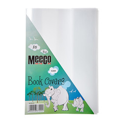 Book Cover Clear (A5) - Fitted