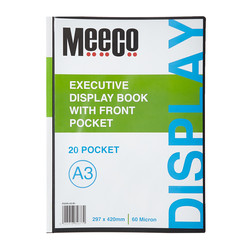 Executive Display Book A3