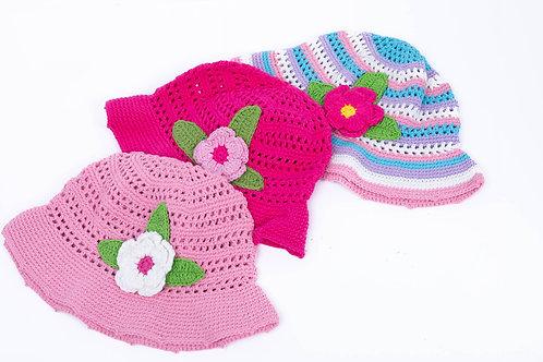 Floral Children's Hat