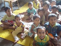 Creche child in Creche Centre