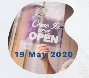 REOPENING physical office - 19 May 2020