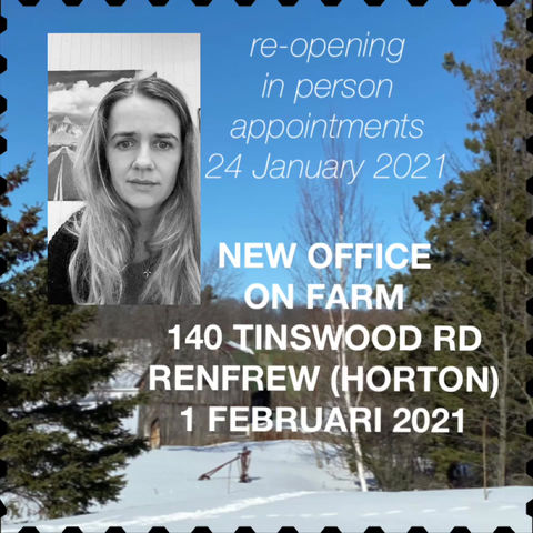 Re-opening in person appointments!