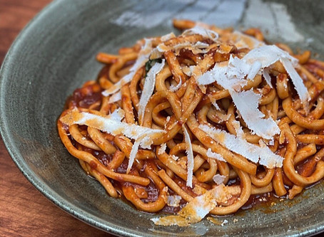 About that Maccaronara Pasta, and Other Happenings