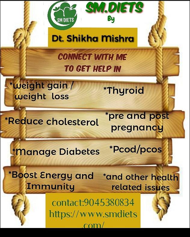 SM Diets - famous dietition india