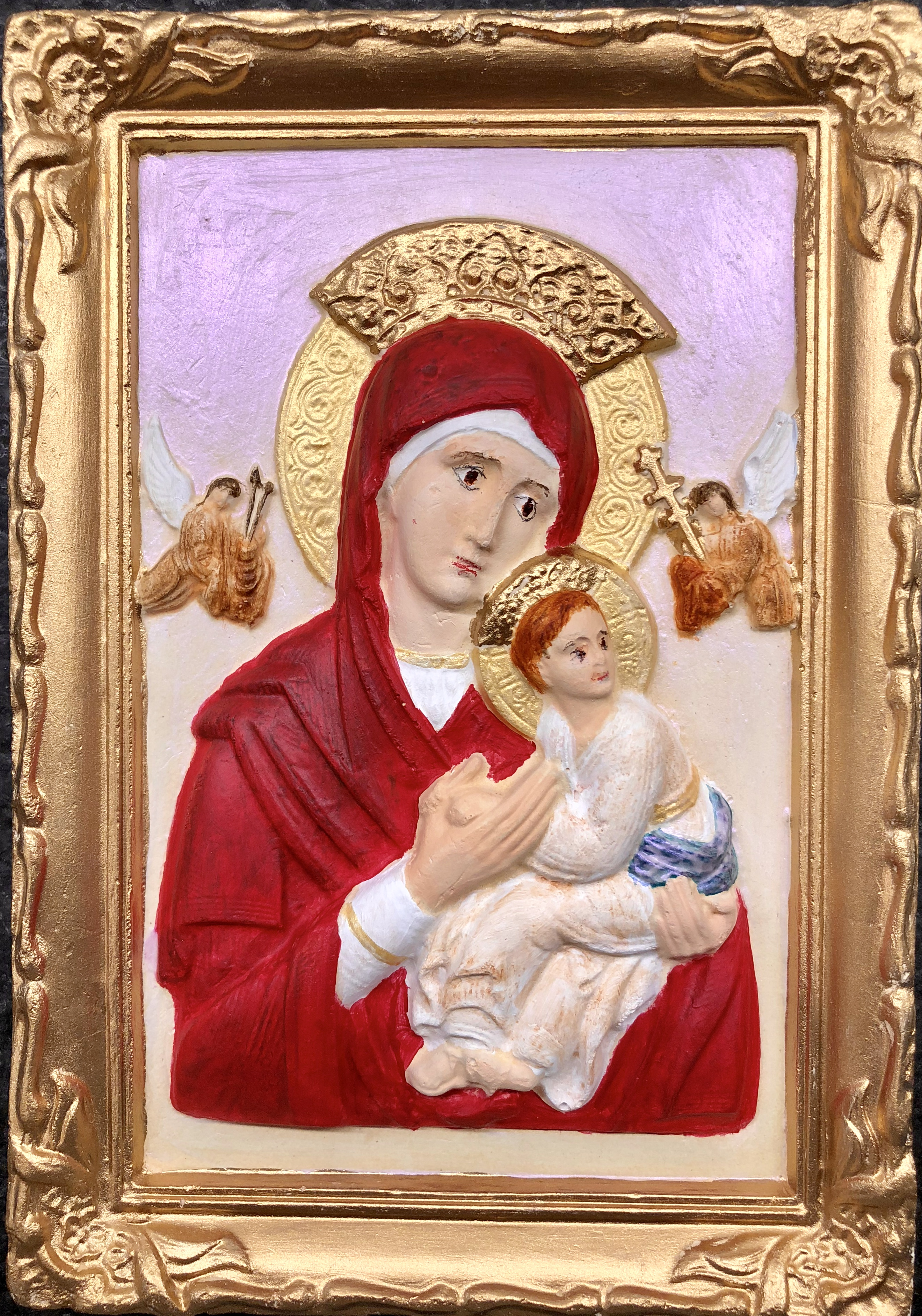 Madonna and Child Ikon