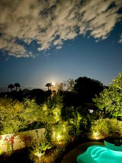 Moonrise over Backyard
