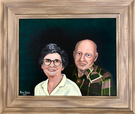 Portrait of Garland and Lois Keel