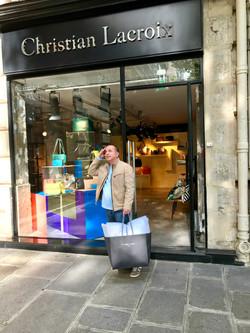 Rami at Christian Lacroix in Paris