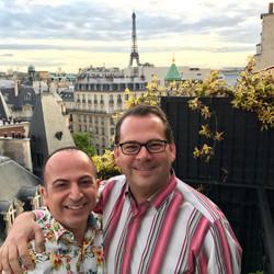 Rami and Brian in Paris