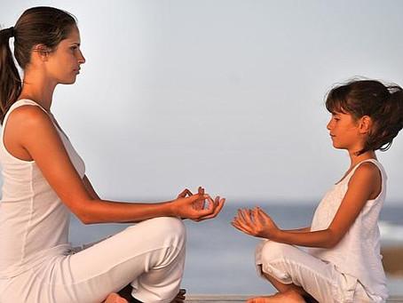 Kendiniz ve çocuğunuz için meditasyon farkındalığı