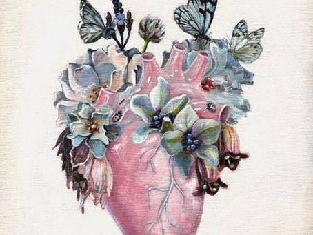 Kırık kalbini al ve onu sanata dönüştür