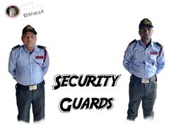 SECURITY GUARDS UNARMED