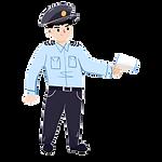 —Pngtree—cartoon security guard measurin