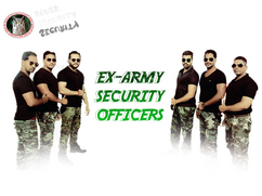 EX ARMY SECURITY PERSONNEL