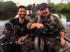 Kip Robbins and me in Ecuador credit Vin