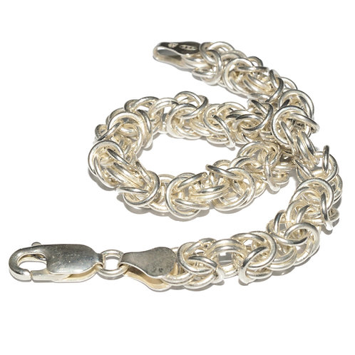 Byzantine Bracelet 6mm - Hallmarked
