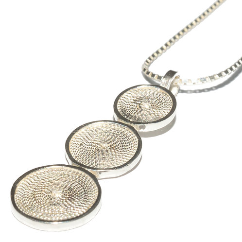 Triple Disc Pendant