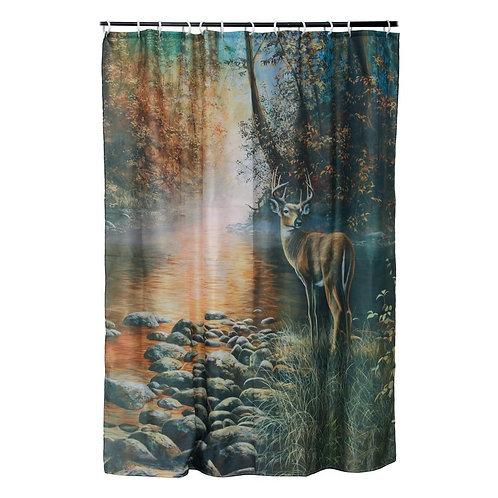 Deer Shower Curtain RE