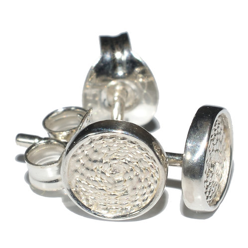Disc Earrings Small