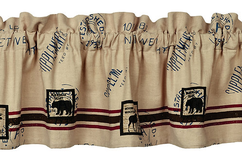 Timber Trail Valance msw