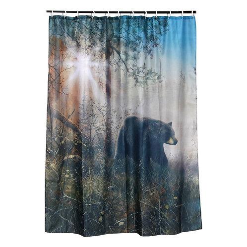 Bear Shower Curtain RE